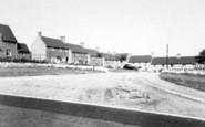 Bruton, Council Estate c.1960