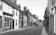Bruton, High Street c.1955