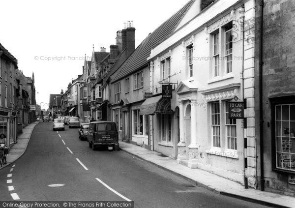 Bruton, High Street c.1965