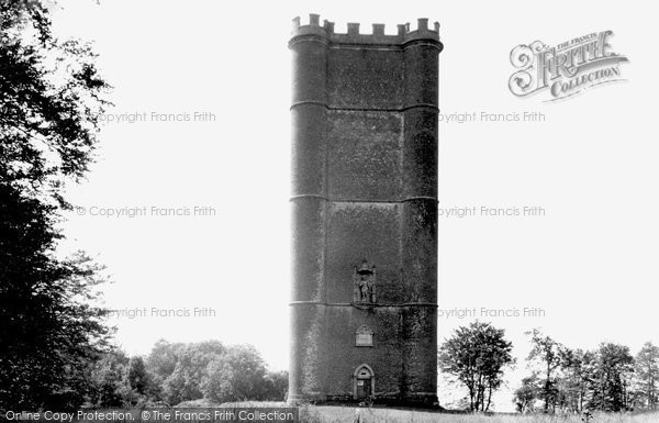 Bruton, King Alfred's Tower c.1955