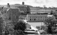 Bruton, Kings School And Dovecot c.1955