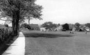 Bruton, Kings School Playing Fields c.1960