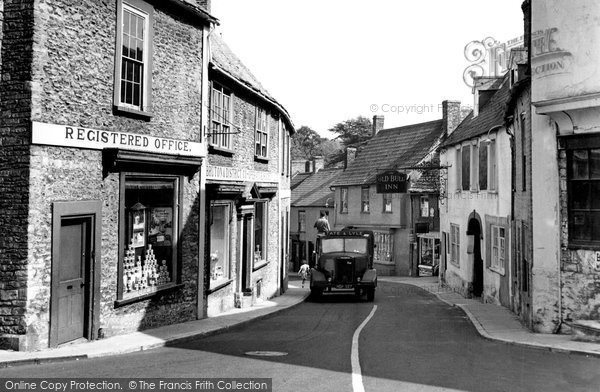 Bruton, Patwell Street c.1955