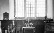 Bruton, Sexey's Hospital Chapel Interior c.1960