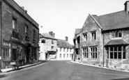Bruton, The Library c.1960