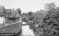 Bruton, The River c.1960
