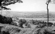 Bruton, View From King Alfred's Tower c.1955