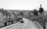 Bruton, View From Shepton Road c.1965