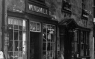 Bruton, Windmill's Ironmongers Shop c.1960