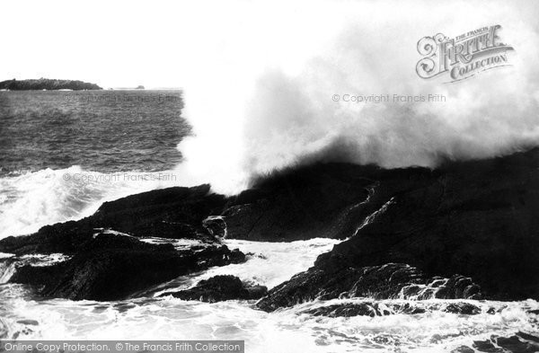 Bryher, Hell Bay, Mussel Rock 1894