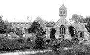 Brympton, The Church Of St Andrew And House 1900