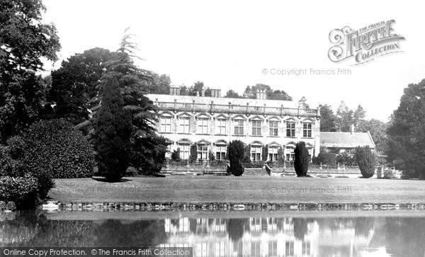 Brympton, The House And Lake 1900