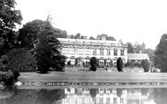 Brympton, The House And Lake 1900