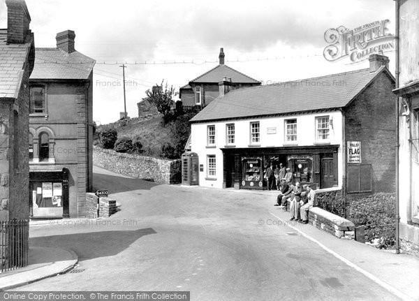 Brynamman, The Post Office c.1955