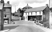 Brynamman, the Post Office c1955