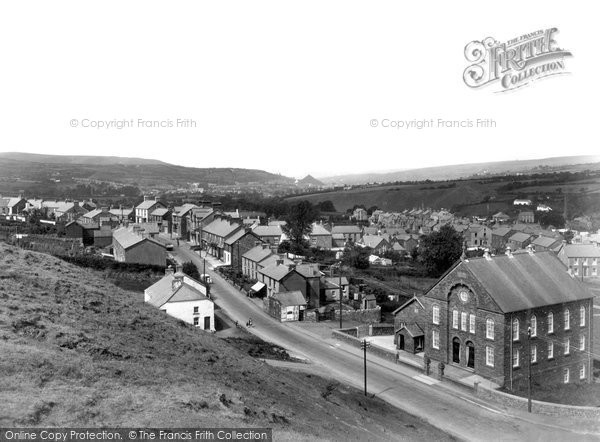 Brynamman, The Village c.1955
