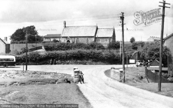 Bryncethin, St Theodore's Church 1938