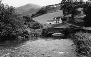 Bryncrug, Afon Dysynni c.1960