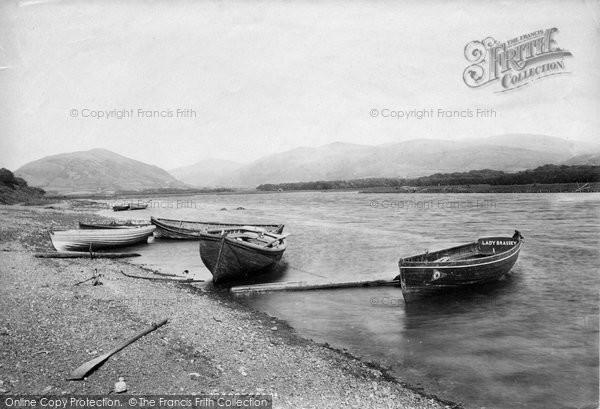 Bryncrug, Rhydygarnedd Ferry 1895