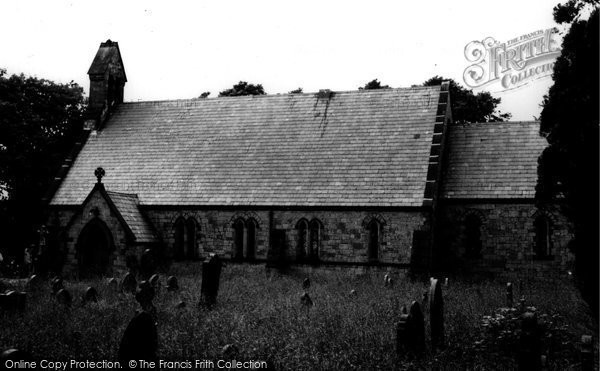 Brynford, St Michael's Church c.1965