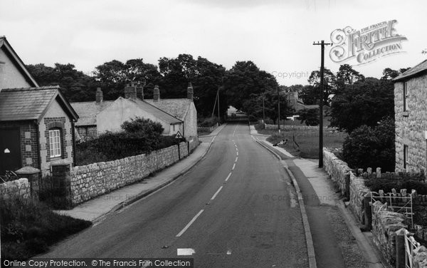Brynford, The Village c.1960