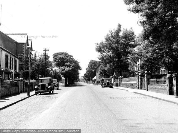 Brynmawr, Alma Street c.1950