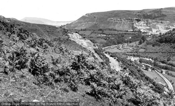Brynmawr, Clydach From The Hafod Road c.1955