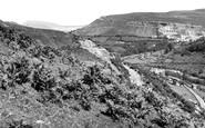Brynmawr, Clydach From The Hafod Road c.1955
