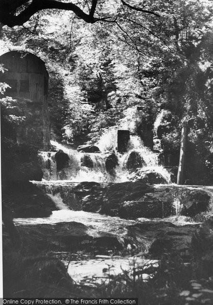 Brynmawr, Fairy Glen Falls c.1955