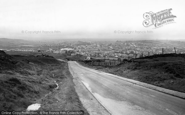 Brynmawr, General View c.1960