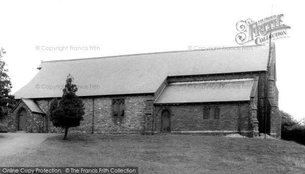 Brynmawr, St Mary's Church c.1965