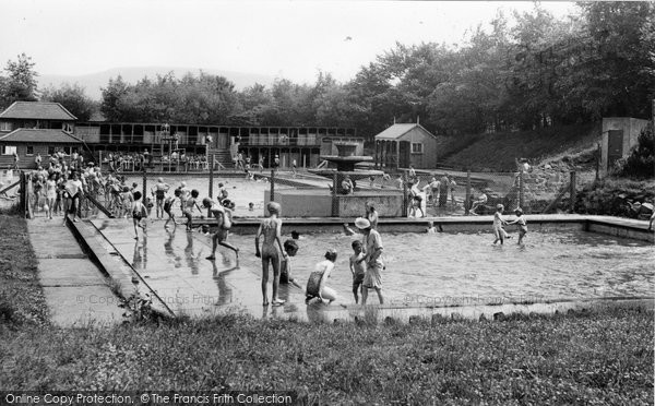 Photo of Brynmawr, Swimming Pool c1955