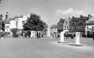 Brynmawr, The Square c.1955