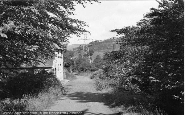 Brynmawr, The Walks, Clydach Valley c.1955