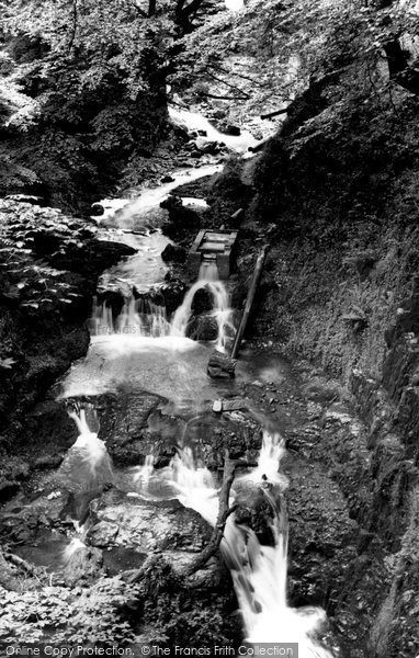 Brynmawr, The Waterfalls c.1950