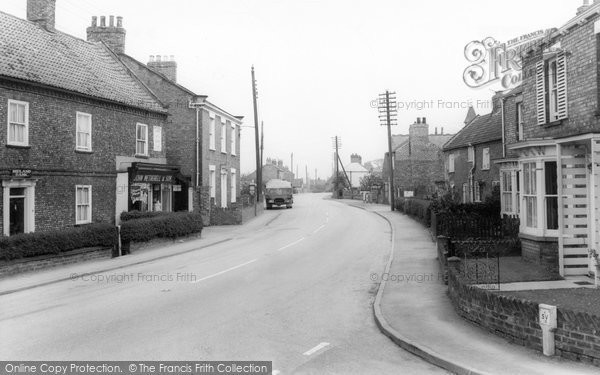 Photo of Bubwith, Main Road c1965