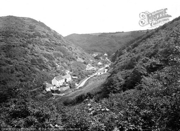 Buck's Mills, Village From The Woods 1930