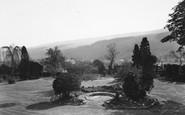 Buckden, A View From The Veranda, Buckden House c.1955