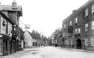 Buckden, High Street 1906