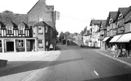 Buckden, Lion And George Hotels c.1955