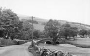 Buckden, The Bridge c.1955