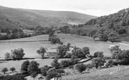 Buckden, The Wharfe Valley c.1955