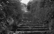 Buckfastleigh, Church Steps c.1960