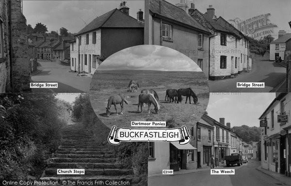 Buckfastleigh, Composite c.1960