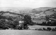 Buckfastleigh, General View And Station c.1955