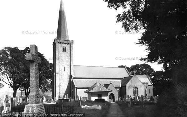 Buckfastleigh, Holy Trinity Church 1954