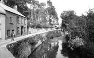 Buckfastleigh, On The River Mardle 1931