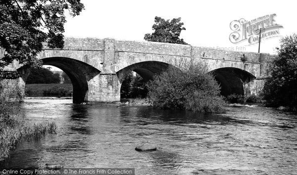 Buckfastleigh, The Bridge Over The River Dart c.1955