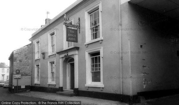 Buckfastleigh, The Kings Arms Hotel c.1965