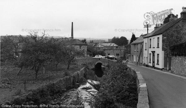 Buckfastleigh, The River Dart c.1965